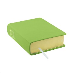 Hand-Bound Leather Bible - Lime Green green lds scriptures, custom lds scriptures, green lds scripture, green Bible combination,color Bible combination scriptures,green Bible combination scriptures