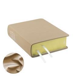 Hand-Bound Leather Bible - Pearlized Beige beige lds scriptures, custom lds scriptures, beige lds scripture, beige Bible combination, color Bible combination scriptures, beige Bible combination scriptures