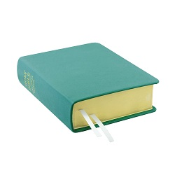 Hand-Bound Leather Bible - Teal Teal lds scriptures, custom lds scriptures, teal lds scripture, teal Bible combination, color Bible combination scriptures, teal Bible combination scriptures