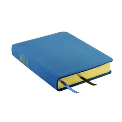 Hand-Bound Leather Triple - Aqua Blue blue lds scriptures, custom lds scriptures, blue lds scripture, blue triple combination,color triple combination scriptures,blue triple combination scriptures