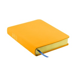 Hand-Bound Leather Triple - Canary Yellow yellow lds scriptures, custom lds scriptures, yellow lds scripture, yellow triple combination, mustard lds scriptures,color triple combination scriptures,yellow triple combination scriptures