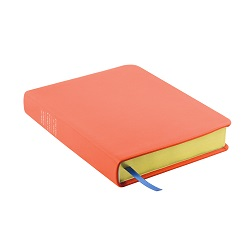 Hand-Bound Leather Triple - Coral Pink - LDP-HB-RT-CPK