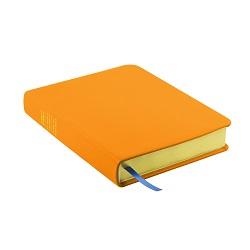 Hand-Bound Leather Triple - Light Orange orange lds scriptures, custom lds scriptures, orange lds scripture, orange triple combination,color triple combination scriptures,orange triple combination scriptures