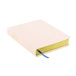 Hand-Bound Leather Triple - Pink Sand pink lds scriptures, custom lds scriptures, pink lds scripture, pink triple combination,color triple combination scriptures,pink triple combination scriptures