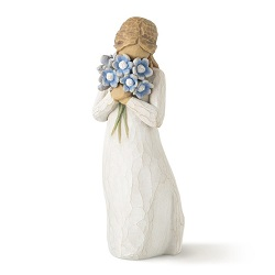 Forget-Me-Not Forget-Me-Not statue, forget me not willow tree,