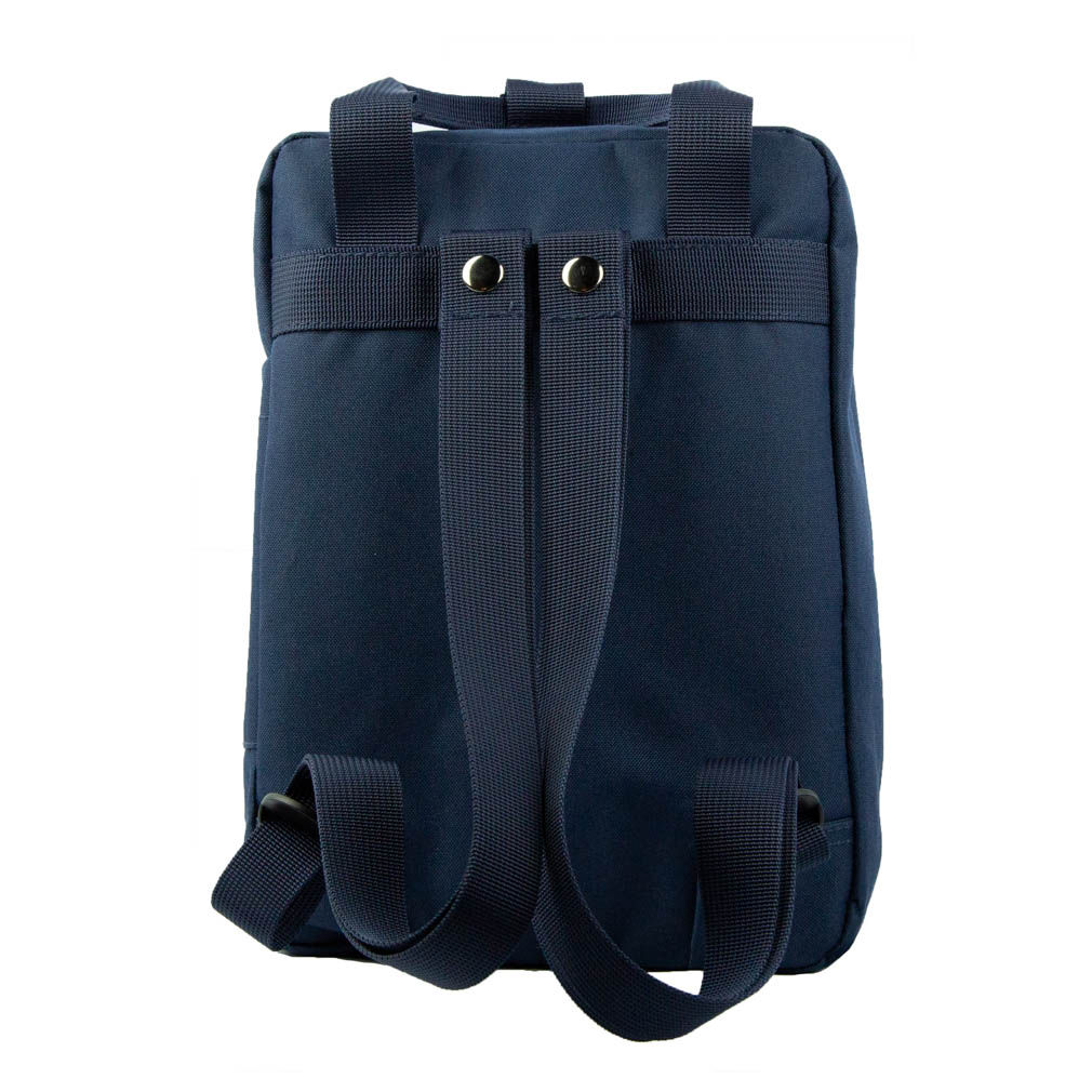 Navy Mini Scripture Backpack - BM-KIRTLAND-BLUE