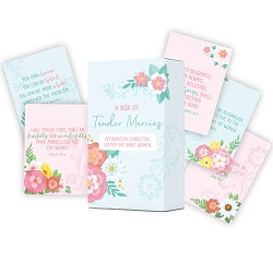 Tender Mercies: 100 Affirmations for Latter-day Saint Women lds affirmations, lds affirmation cards
