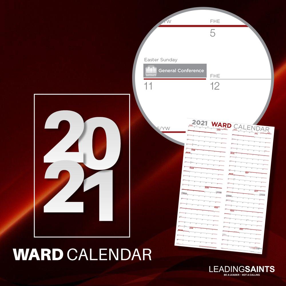 2021 Yearly Ward Calendar ward calendar, 2020 ward calendar, 2020 lds calendar, 2020 lds ward calendar